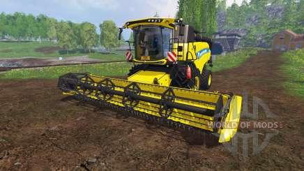 New Holland CR9.90 v1.1 [yellow edition] para Farming Simulator 2015