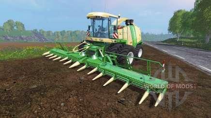 Krone Big X 1100 [twin fronts wheels 2] para Farming Simulator 2015