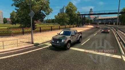 Ford F-150 SVT Raptor para Euro Truck Simulator 2