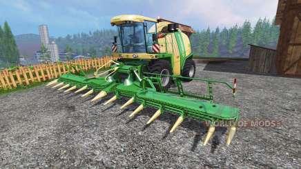 Krone Big X 1100 [inluding cutters] para Farming Simulator 2015
