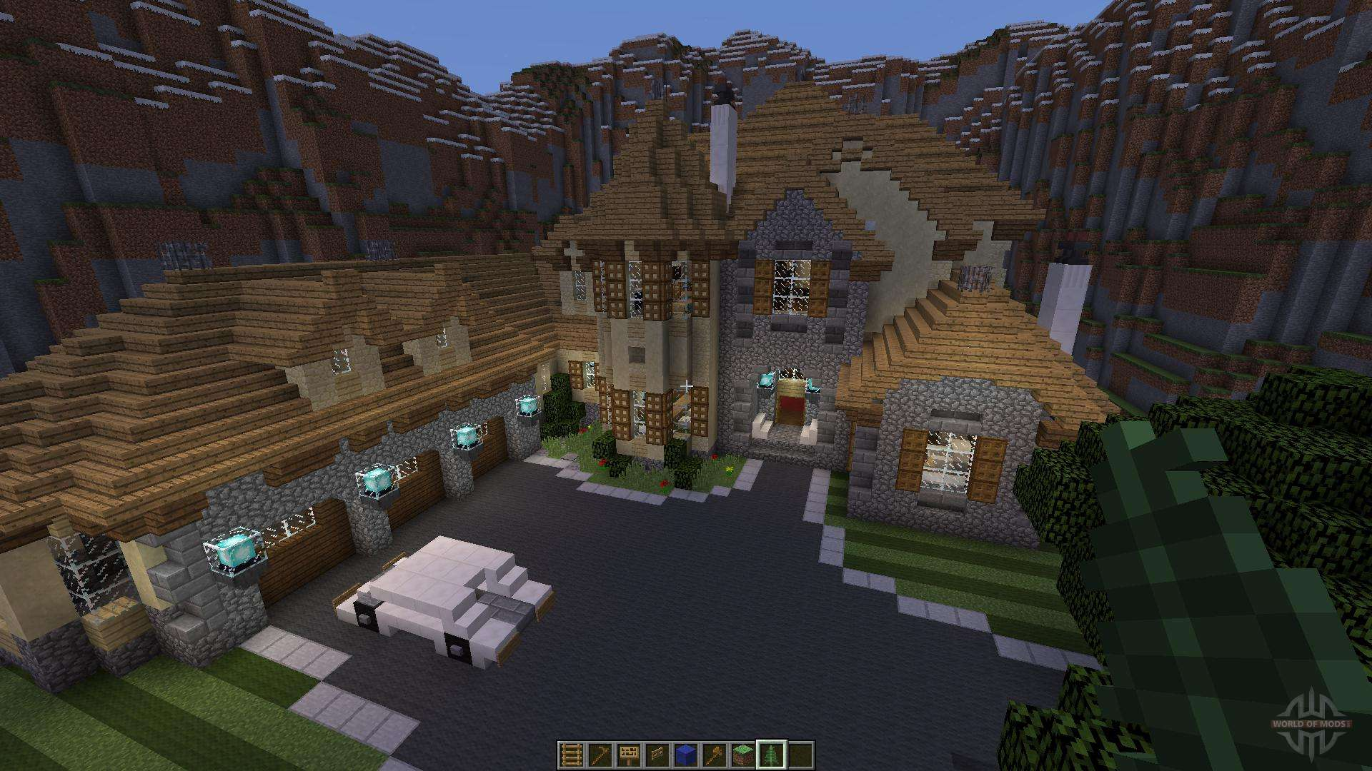 European Mountain Mansion para Minecraft