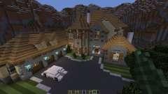European Mountain Mansion