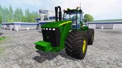 John Deere 9630 v2.0 [selectable wheels] para Farming Simulator 2015