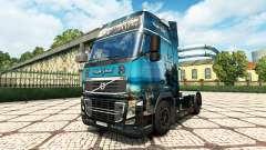 Pérola negra de pele para a Volvo caminhões para Euro Truck Simulator 2