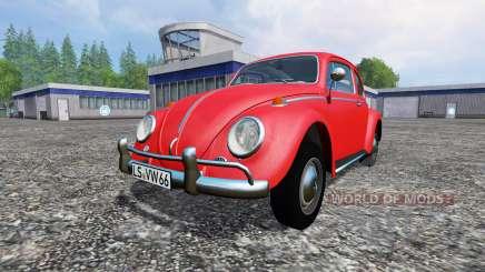 Volkswagen Beetle 1966 para Farming Simulator 2015