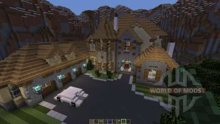 European Mountain Mansion para Minecraft