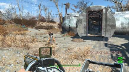 Lowered Weapons para Fallout 4