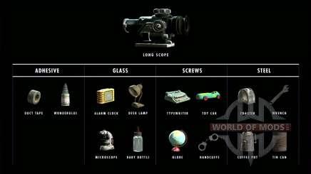 1000 materiais para artesanato para Fallout 4