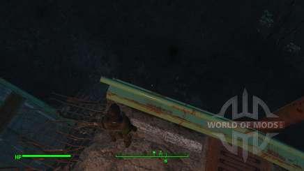 Desativar o dano de queda para Fallout 4