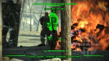 Precisão em V. A. T. S. para Fallout 4