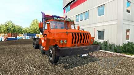 Ural 43202 v2.0 para Euro Truck Simulator 2