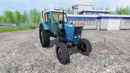 MTZ-50 LITROS com o console carregador para Farming Simulator 2015