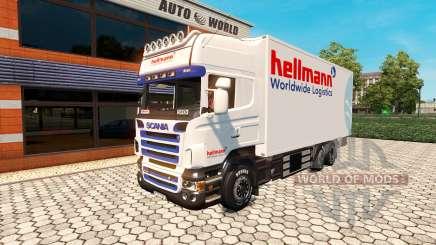 Scania R500 BDF Hellmann para Euro Truck Simulator 2