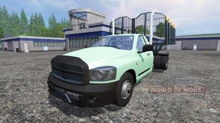 PickUp [log truck] v1.1 para Farming Simulator 2015