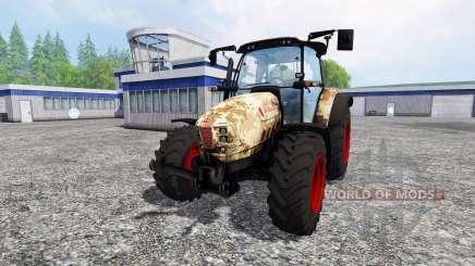 Hurlimann XM 4Ti camouflage v4.0 para Farming Simulator 2015