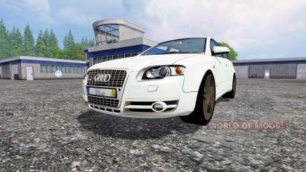 Audi A4 Avant Quattro para Farming Simulator 2015