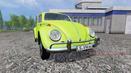 Volkswagen Beetle 1966 v1.1 para Farming Simulator 2015