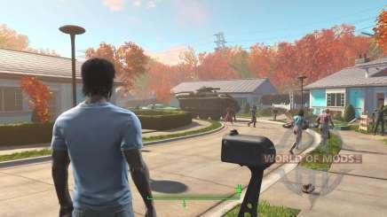 Desbloquear as portas da casa, antes da guerra, para Fallout 4