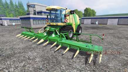 Krone Big X 1100 [125000 liters] para Farming Simulator 2015