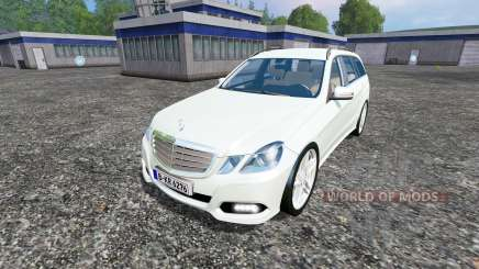 Mercedes-Benz E350 CDI Estate para Farming Simulator 2015