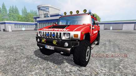 Hummer H2 [firefighters] para Farming Simulator 2015