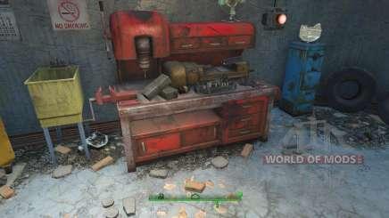 Enganar os materiais para a elaboração de para Fallout 4