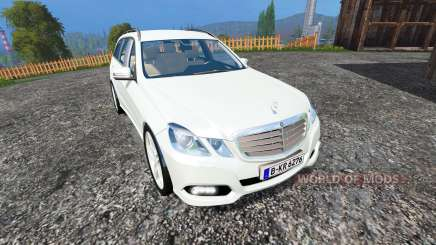 Mercedes-Benz E350 CDI Estate v1.1 para Farming Simulator 2015