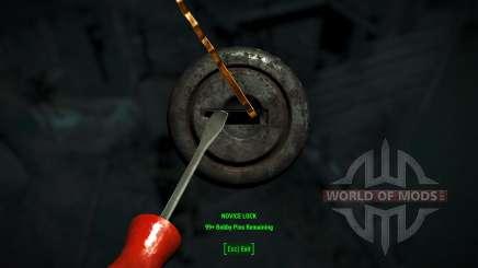 Fácil lockpicking para Fallout 4
