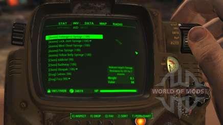 A fácil classificação de itens para Fallout 4
