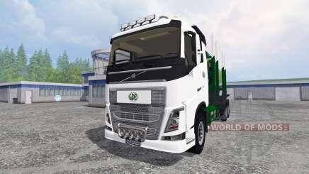 Volvo FH16 [timber carrier] para Farming Simulator 2015