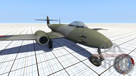 Gloster Meteor Mk. III Alpha para BeamNG Drive