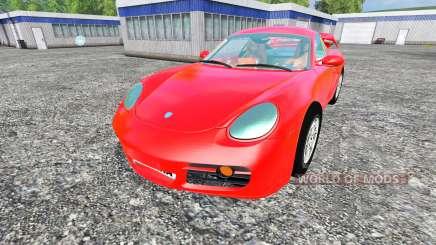 Porsche Cayman para Farming Simulator 2015