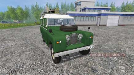 Land Rover Series IIa Station Wagon v1.2 para Farming Simulator 2015