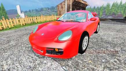 Porsche Cayman v1.2 para Farming Simulator 2015