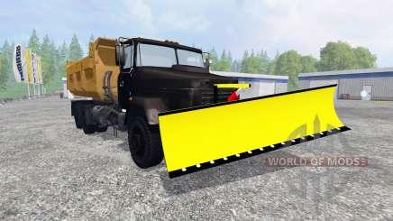 KrAZ-6510 [snowplow] para Farming Simulator 2015