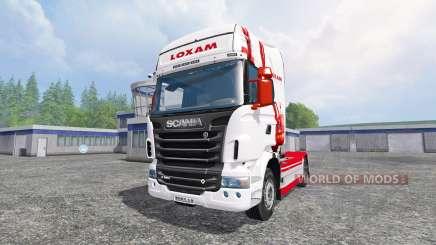 Scania R560 [loxam] para Farming Simulator 2015