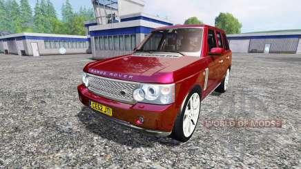 Range Rover Supercharged 2009 para Farming Simulator 2015