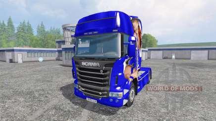 Scania R560 [Lux] para Farming Simulator 2015