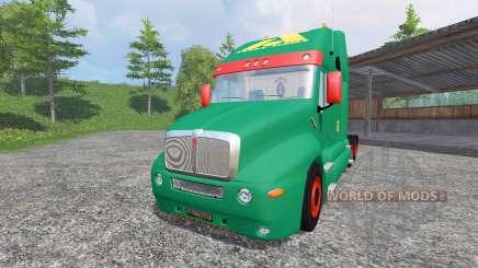 Kenworth T2000 [aguas tenias edition] para Farming Simulator 2015