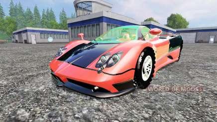 Pagani Zonda v1.2 para Farming Simulator 2015