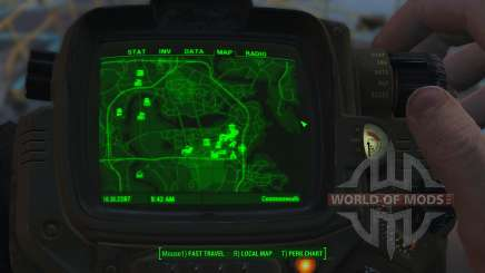 Melhoria mapa para Fallout 4