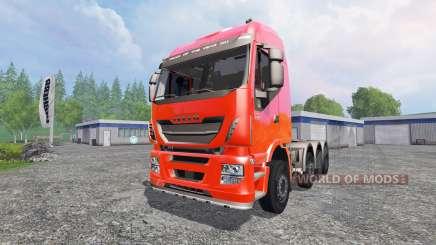 Iveco Stralis 560 para Farming Simulator 2015