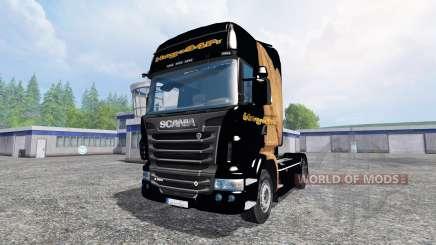 Scania R560 [Hugo La Merde] para Farming Simulator 2015