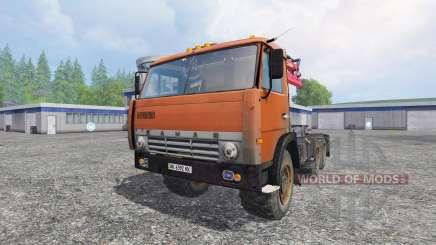 KamAZ-55111 para Farming Simulator 2015