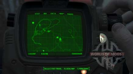 Immersive Map 4k - BLUEPRINT - Full Squares para Fallout 4