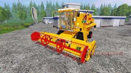 CLAAS Dominator 105 v2.0 para Farming Simulator 2015