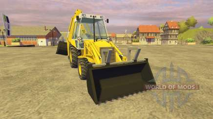 JCB 3CX v2.1 para Farming Simulator 2013