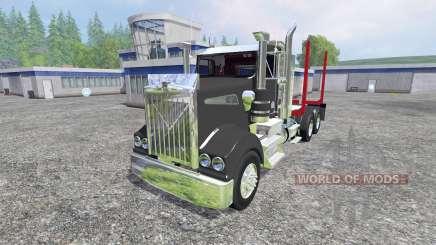 Kenworth T908 [logger] para Farming Simulator 2015
