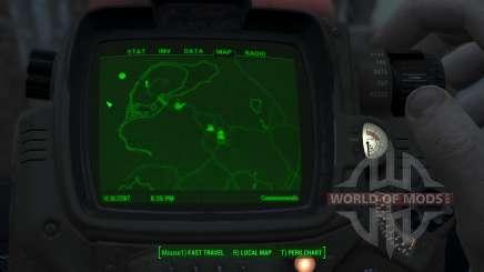 Immersive Map 4k - BLUEPRINT - No Squares para Fallout 4