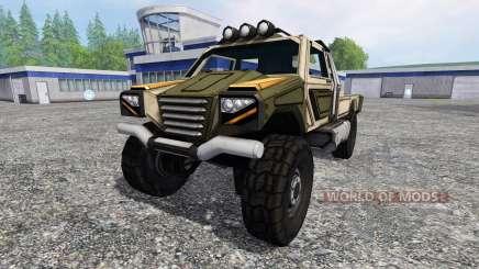 Gekko Utility Vehicle v1.0 para Farming Simulator 2015